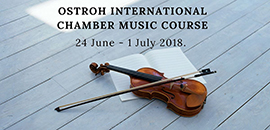 OSTROH INTERNATIONAL CHAMBER MUSIC COURSE
