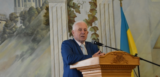 Vasyl Rudenko visited the National University of Ostroh Academy